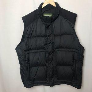 Eddie Bauer Down Filled Puffer Vest Black XXL